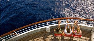 Achtern auf dem genießt ihr die Aussicht. Foto: AIDA Cruises