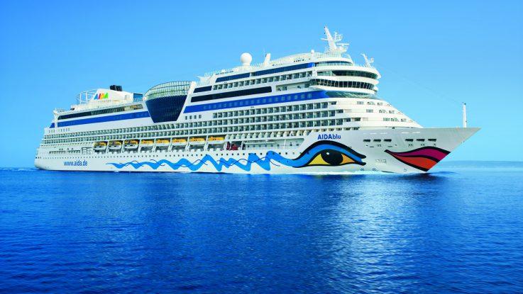 Die AIDAblu Foto: AIDA Cruises