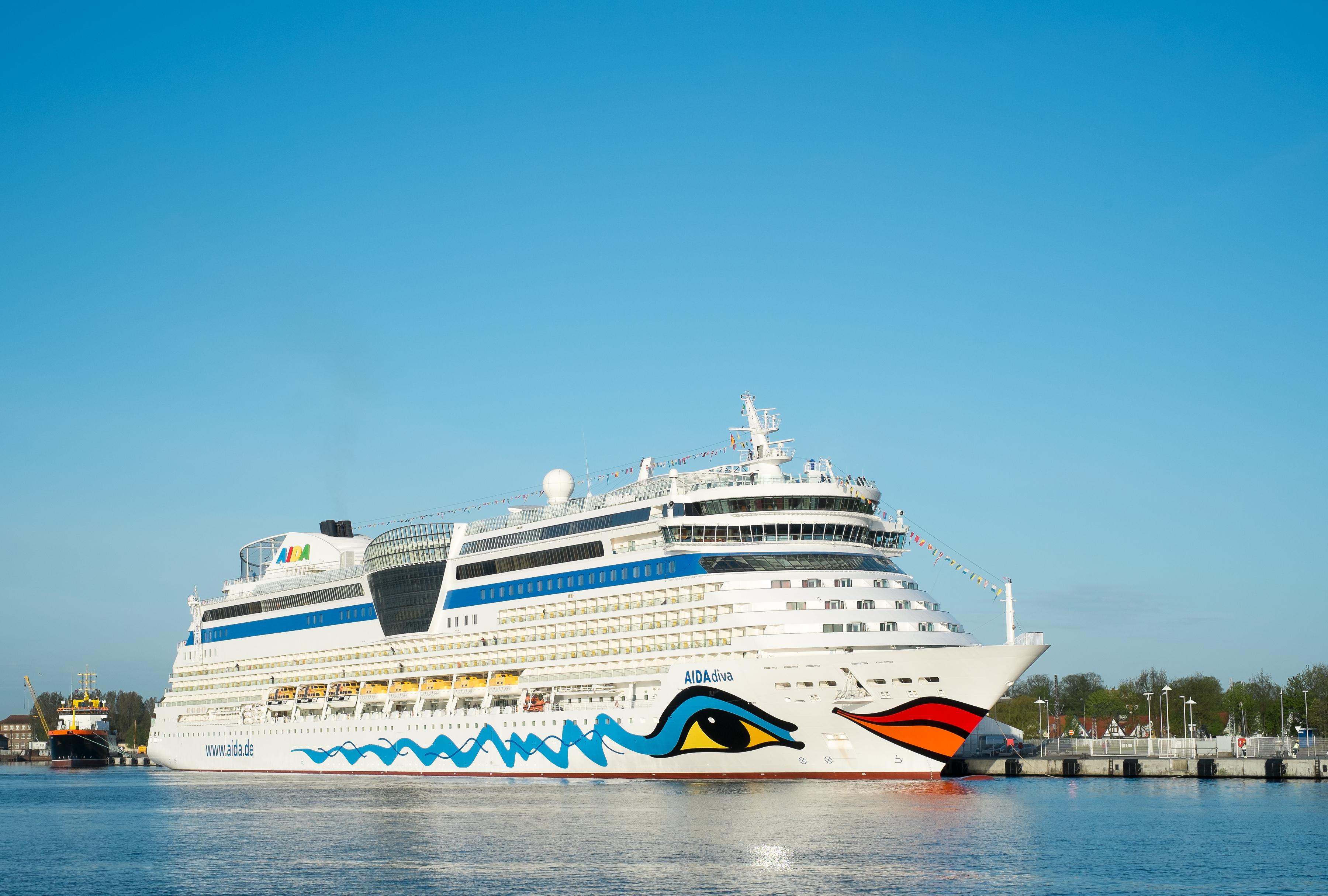 Die AIDAdiva. Foto: AIDA Cruises