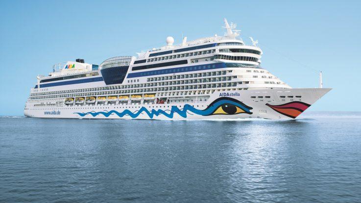 Die AIDAstella. Foto: AIDA Cruises