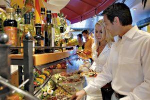 Das Buffet auf der AIDAvita Foto: AIDA Cruises