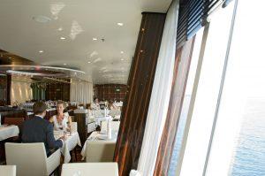 Das Restaurant Rossini. Foto: AIDA Cruises