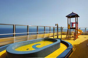 Der Kinderpool an Deck der Costa Magica. Foto: Costa Crociere