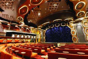 Der riesige Theatersaal verspricht tolle Vorführungen. Foto: Costa Crociere
