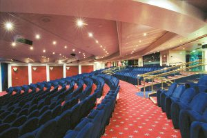 Das Theater zeigt euch grandiose Vorstellungen. Foto: MSC Crociere