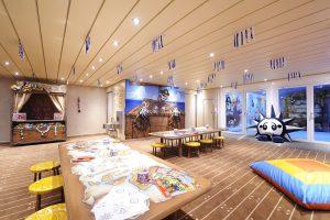 Der Innenbereich im Kids Club. Foto: MSC Crociere