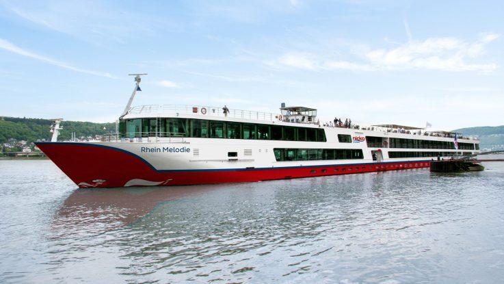Die MS Rhein Melodie. Foto: Nicko-Cruises