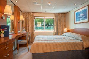 Eine komfortable Deluxe Kabine. Foto: Nicko Cruises