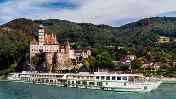 Die Crystal Mozart. Foto: Crystal Cruises