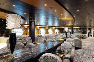Die Zebra Bar. Foto: MSC Crociere