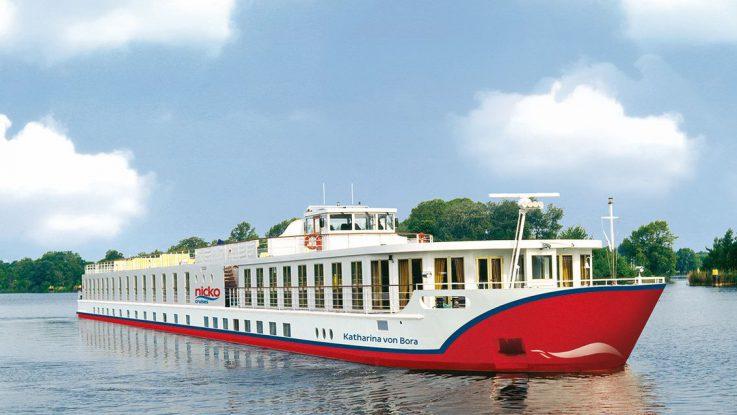 Die MS Katharina von Bora. Foto: Nicko Cruises