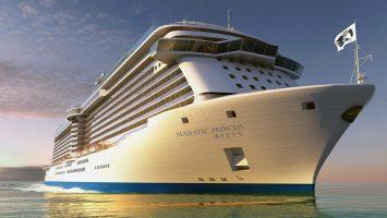 Die Majestic Princess. Foto: Princess Cruises