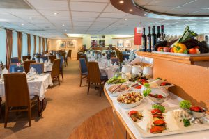 Das Panorama Restaurant. Foto: Nicko Cruises