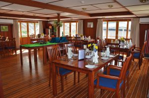 Das Restaurant. Foto: Nicko Cruises