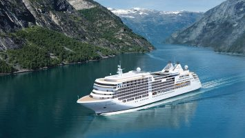 Die Silver Muse ist das neue Flaggschiff von Silversea Cruises. Foto: Silversea Cruises