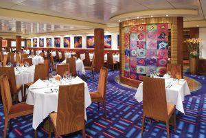 Das Alizar Restaurant auf Deck 6. Foto: Norwegian Cruise Line