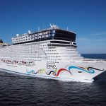 Die Norwegian Epic. Foto: Norwegian Cruise Line