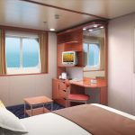 Eine der beliebten Außenkabinen. Foto: Norwegian Cruise Line