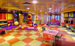 Der Kinderbereich lädt eure Kinder ein. Foto: Norwegian Cruise Line