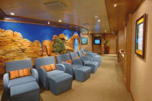 Der Ruhebereich im Santa Fe Spa. Foto: Norwegian Cruise Line