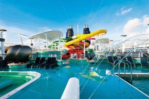 Der Aqua Park. Foto: Norwegian Cruise Line
