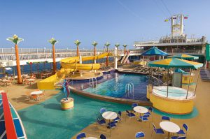 Der Sapphire Pool. Foto: Norwegian Cruise Line