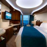 Eine Balkon Kabine. Foto: Norwegian Cruise Line