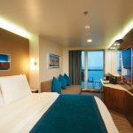 Die geräumigen Balkon-Kabinen an Bord. Foto: Norwegian Cruise Line