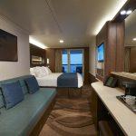 Die großzügigen Balkon Kabinen. Foto: Norwegian Cruise Line