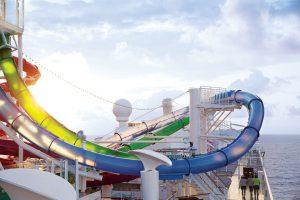 Der Auqa Park ist Spaß pur! Foto: Norwegian Cruise Line