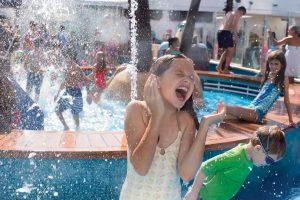Die Kinder haben ihren eigenen Pool. Foto: Norwegian Cruise Line