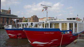 Direkt vor der Fischhalle liegt die Katharina von Bora während der Cruise Days. Foto: bergeest