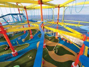 Der Kletter-Park. Foto: Norwegian Cruise Line