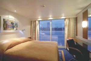 Eine der Suiten. Foto: Transocean Kreuzfahrten