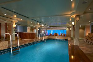 Der Pool im Spa. Foto: Norwegian Cruise Line
