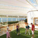 Auf dem Außendeck. Foto: Cunard Lines