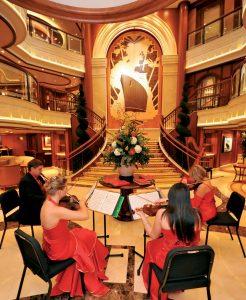 Ihr werdet verzaubert sein. Foto: Cunard Lines