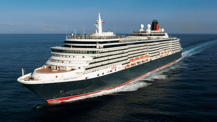 Die Queen Victoria. Foto: Cunard Lines