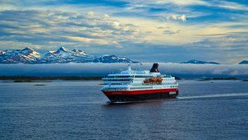 Die MS Nordnorge. Foto: Hurtigruten AS