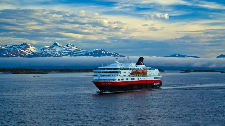 Die MS Nordnorge. Foto: Hurtigruten AS
