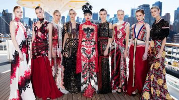 Die J Autumn Fashion Show 2016 auf der AIDaluna. Foto: JMM Paris