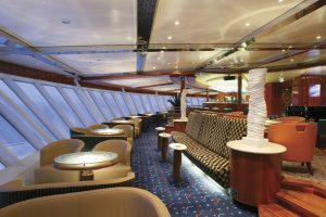 Die Observation Lounge - genießt die Aussicht. Foto: Color Line
