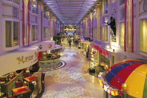 An der Promenade schließt das Spielzimmer an. Foto: Color Line