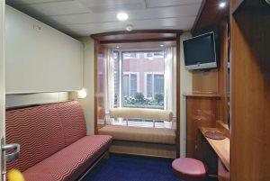 Eine der Außenkabinen an Bord, Foto: Color Line