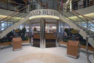 Hier geht es zum Grand Buffet. Foto: Color Line