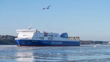 Die Athena Seaways. Foto: DFDS Seaways