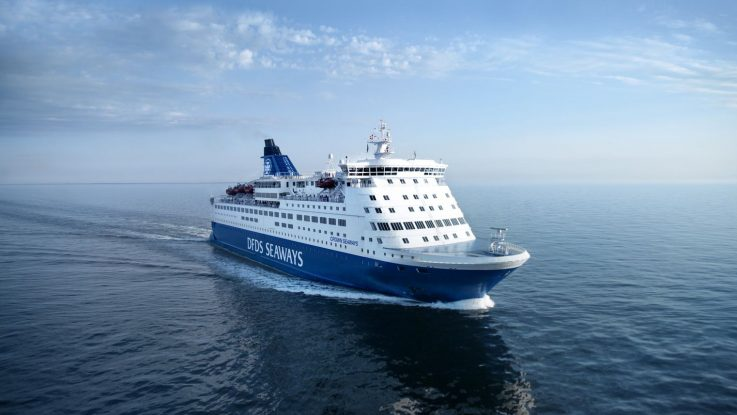 Die Crown Seaways. Foto: DFDS Seaways