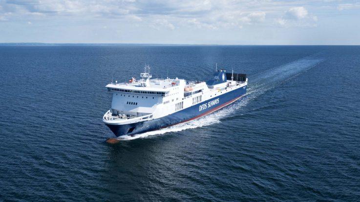 Die Regina Seaways. Foto: DFDS Seaways