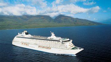 Die Crystal Serenity . Foto: Foto: Crystal Cruises