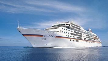 Die MS Europa. Foto: Hapag-Lloyd Cruises